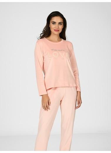 Nbb Pijama Takım Somon
